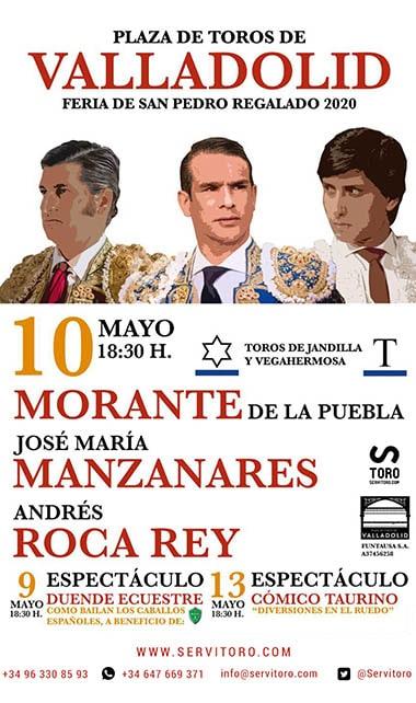 toros Valladolid 2020